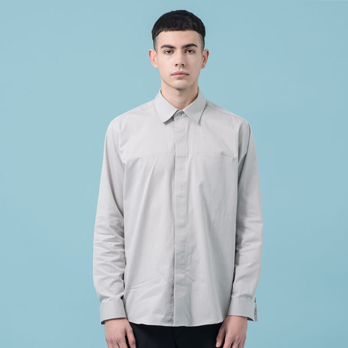 VOID POCKET SHIRTS(GY)
