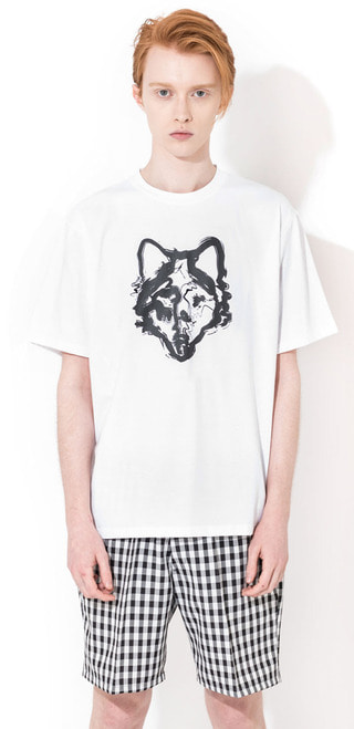 PAINTED WOLF T-SHIRTS(WH)