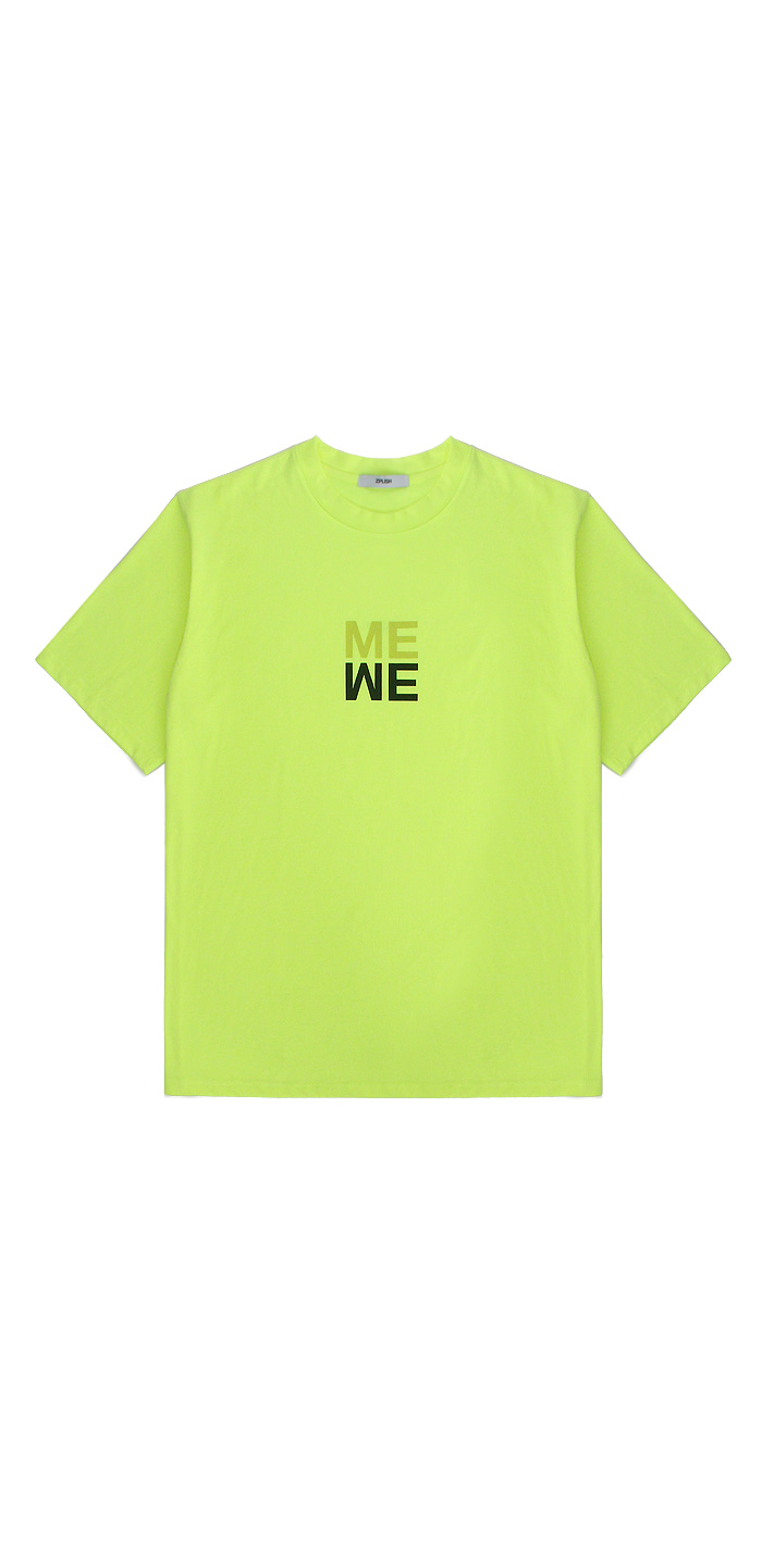 WE ME T-SHIRTS(NEON)
