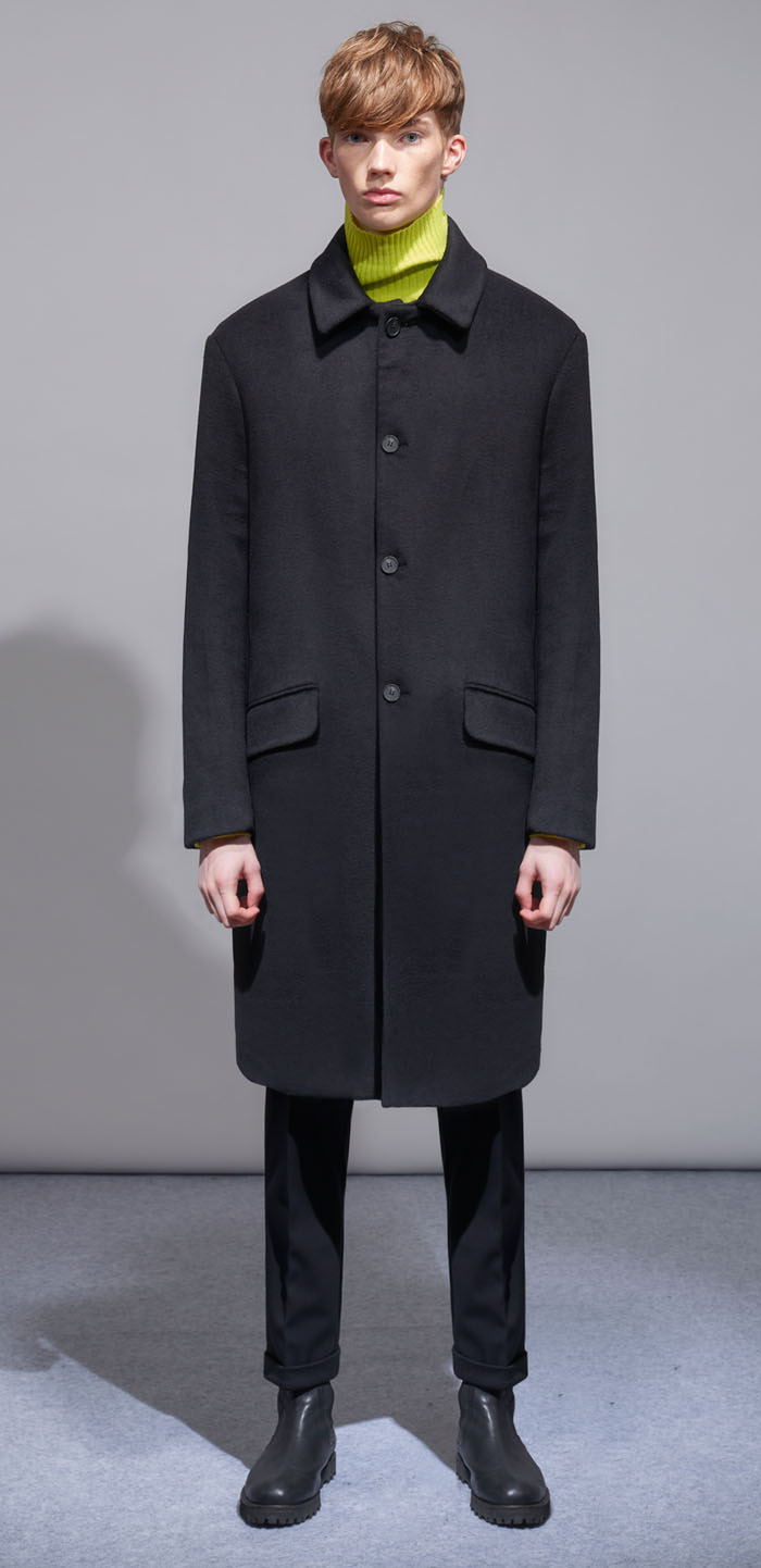 BALMACAN OVERWOOL COAT(BK)