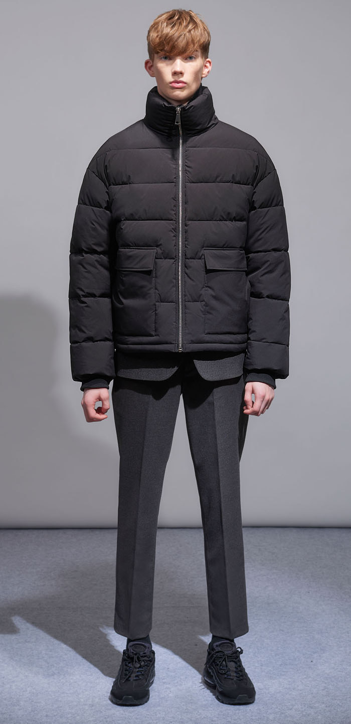 ESSENTIAL DAWN JACKET(BK)