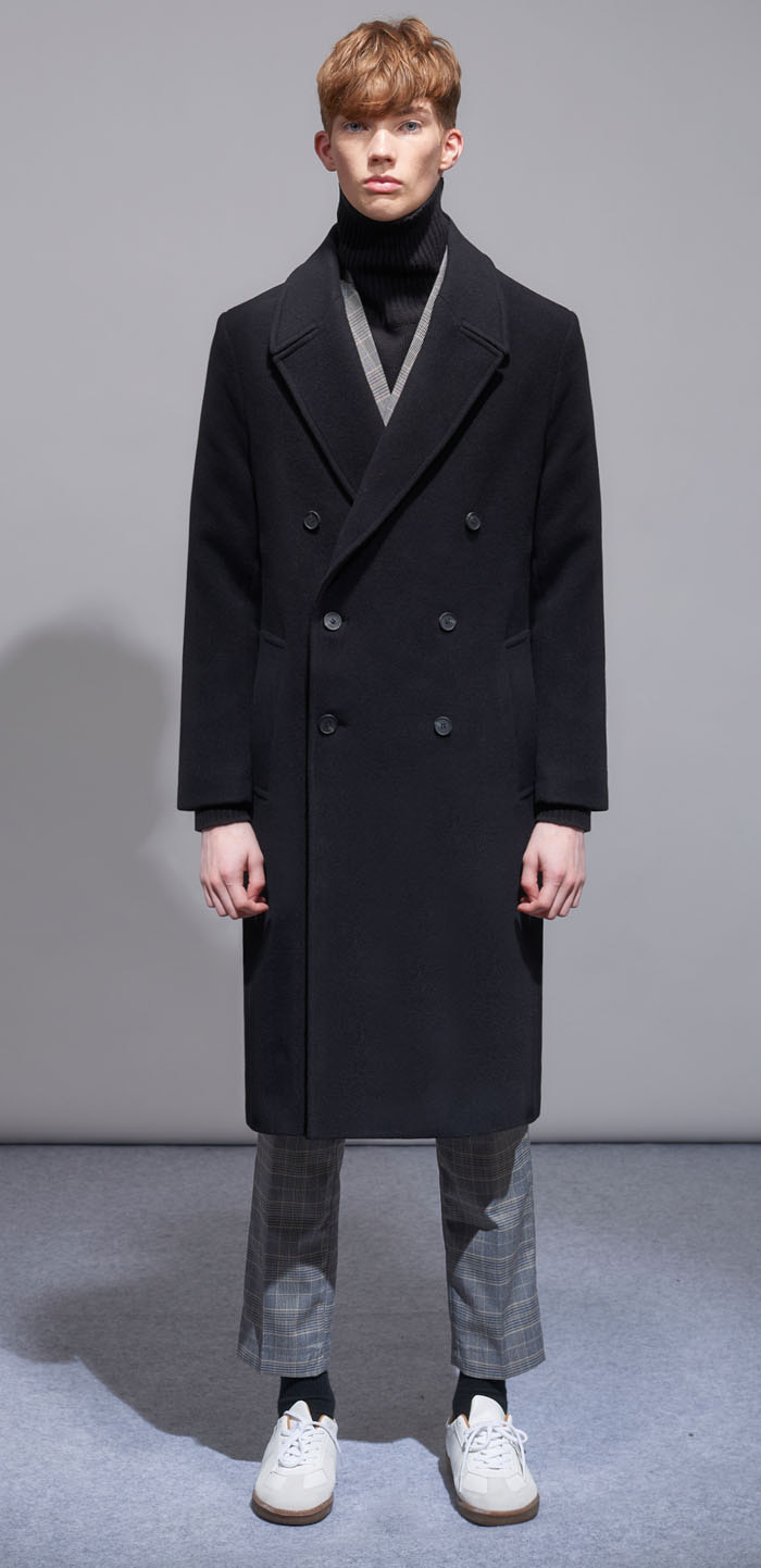 BARBRA WOOL COAT(BK)