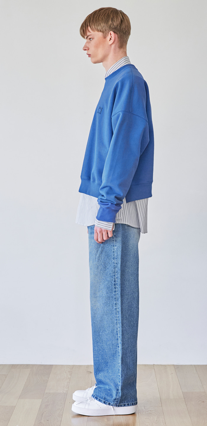 WIDE DENIM PANTS(INDIGO)