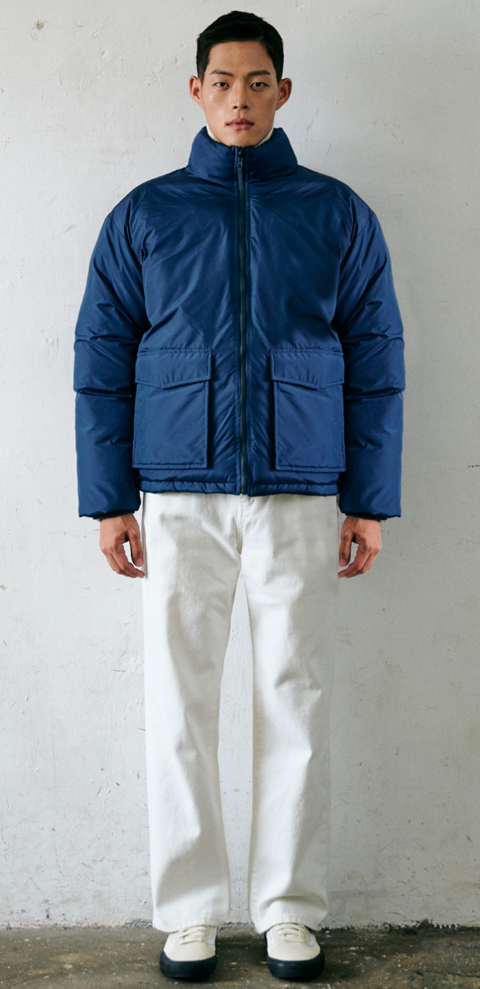 COMBAT DOWN JACKET(BL)