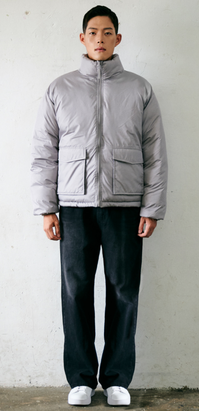 COMBAT DOWN JACKET(GY)