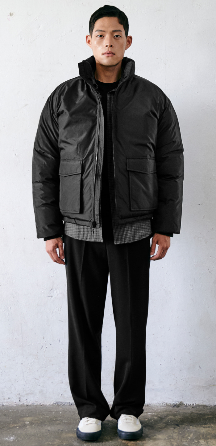 COMBAT DOWN JACKET(BK)